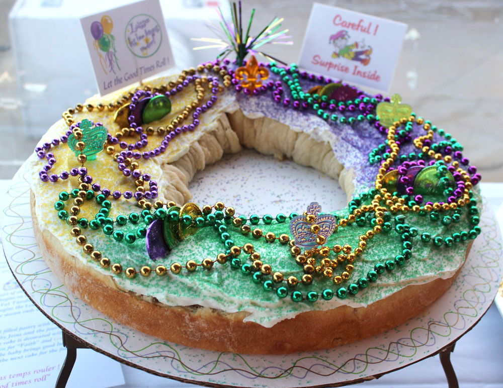 New Orleans King Cake Los Angeles